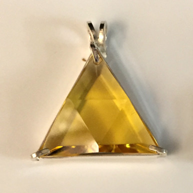 Vogel Pendant - Yellow